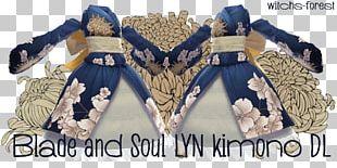 Kimono Blade & Soul Clothing Dress Yukata PNG