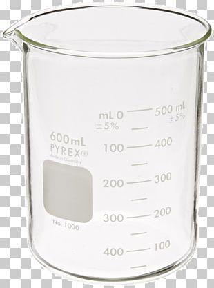 Beaker Pyrex Borosilicate Glass Milliliter Erlenmeyer Flask PNG