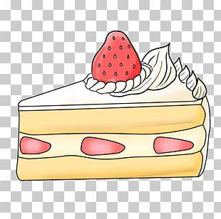 Christmas Cake Illustration Fruit Birthday Cake PNG