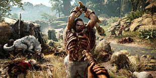 Far Cry Primal Far Cry 4 PlayStation 4 Video Game Spear PNG