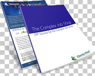 Enterprise Resource Planning Business Product Brochure Brand PNG