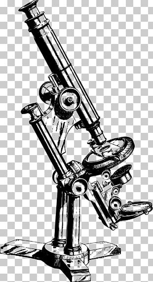 Microscope Drawing PNG