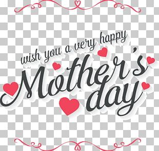 Mother's Day Father's Day Gift Greeting Card PNG
