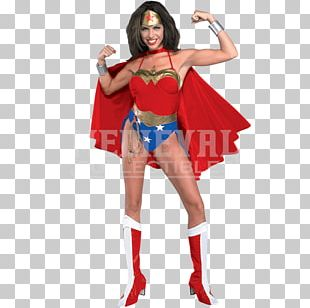 Wonder Woman Halloween Costume Superhero Costume Party PNG