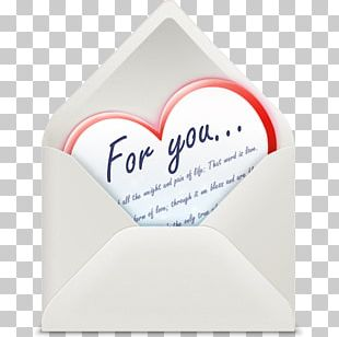 Heart Love Letter Email Icon PNG