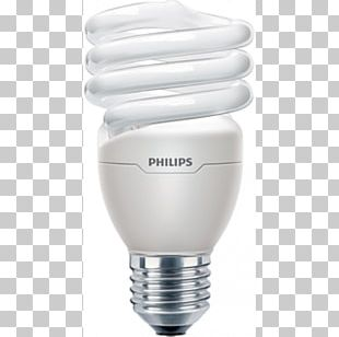 Incandescent Light Bulb Edison Screw Compact Fluorescent Lamp Philips PNG