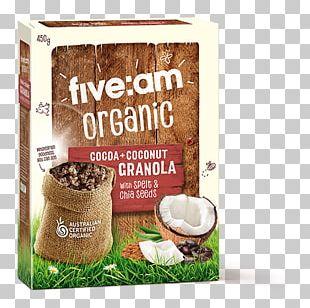 Muesli Breakfast Cereal Organic Food Crumble Granola PNG