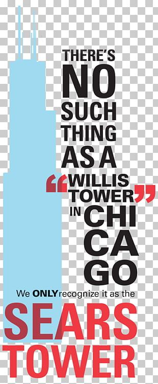 Willis Tower The Chicagoan Graphic Design University Of Illinois At Chicago Poster PNG