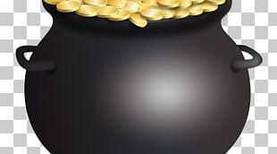 Saint Patrick's Day Gold Shamrock PNG