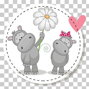 Hippopotamus Cartoon Stock Photography Illustration PNG