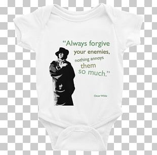 The Poems Of Oscar Wilde Baby & Toddler One-Pieces Always Forgive Your Enemies PNG