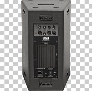 Subwoofer Microphone Loudspeaker Powered Speakers Sound PNG