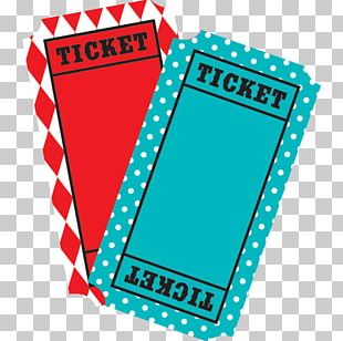 Airline Ticket Traveling Carnival Raffle PNG