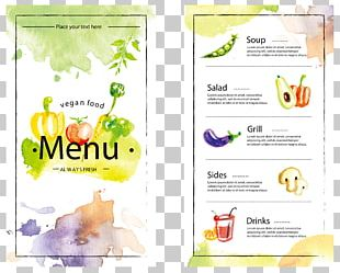 Menu Cafe PNG