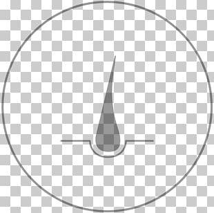 White Circle Line Art Angle Beautician PNG