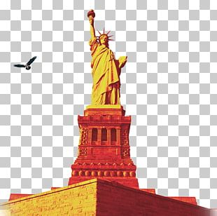 Statue Of Liberty One World Trade Center Battery Park Ellis Island Statue Of Unity PNG