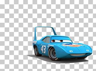Strip 'The King' Weathers Cars 3: Driven To Win Lightning McQueen PNG