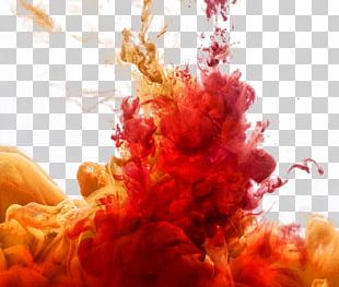 Watercolor Painting Smoke PNG
