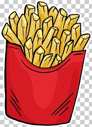 French Fries Fast Food Hamburger Junk Food PNG
