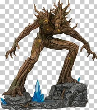 Groot Rocket Raccoon Sideshow Collectibles Marvel Cinematic Universe Marvel Comics PNG