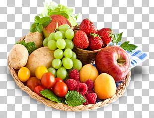 Organic Food Fruit Vegetable Food Gift Baskets PNG