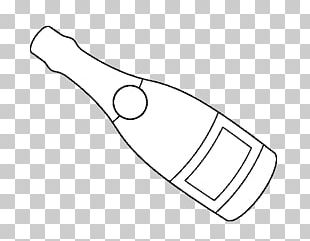 Champagne Wine Bottle Fizzy Drinks Drawing PNG