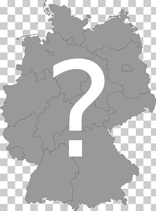 Hesse Blank Map Location PNG