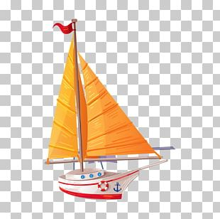 Sail Transport Cartoon PNG