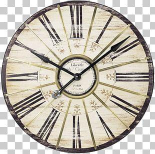 Pendulum Clock Roman Numerals Numerical Digit Industrial Style PNG