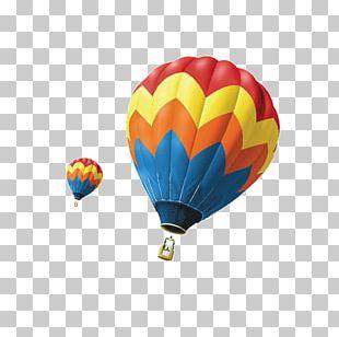 Hot Air Balloon Airplane Flight PNG