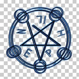 Pentagram Pentacle Wicca Magic Circle Altar PNG