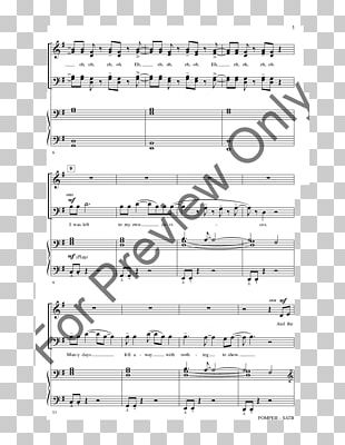 Sheet Music J W  Pepper & Son Choir Song PNG, Clipart, Angle