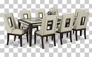 Table Dining Room Bob\'s Discount Furniture Matbord Chair PNG ...