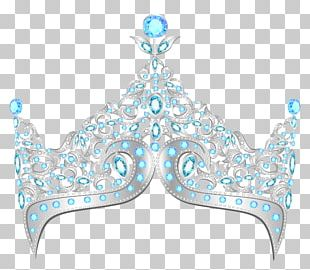 Elsa Crown Tiara PNG