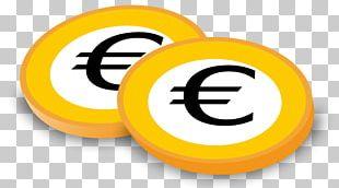 Euro Coins 1 Euro Coin 2 Euro Coin PNG
