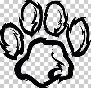 Furry Paw Print PNG