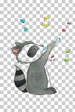Raccoon Drawing Cuteness Illustration PNG