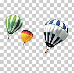 Hot Air Balloon Parachute PNG