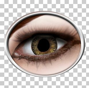 Contact Lenses Costume Red Eye Color PNG