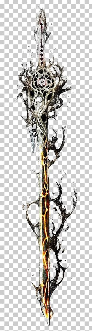 El Diablo Knife Sword Weapon PNG