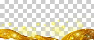 Light Gold Ribbon PNG