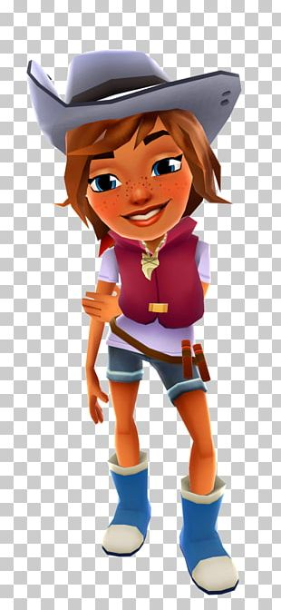 Subway Surfers Sydney Character PNG