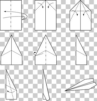 Airplane Paper Plane Flight How-to PNG