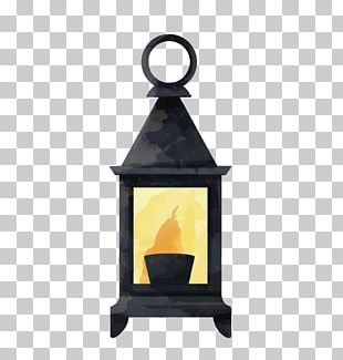 Electric Light Oil Lamp Lantern PNG