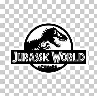 Tyrannosaurus Jurassic Park Logo Decal PNG