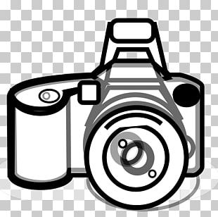 Camera Black And White Photography PNG