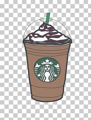 Coffee Latte Starbucks Frappuccino PNG