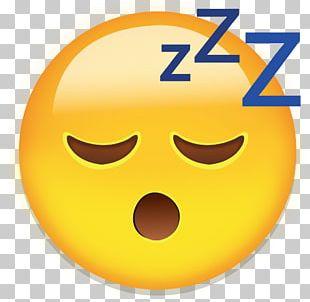 Emoji Smiley Emoticon Sleep Sticker PNG