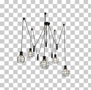 Pendant Light Chandelier Light Fixture Incandescent Light Bulb PNG