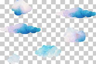 Blue Sky Cloud Computer PNG